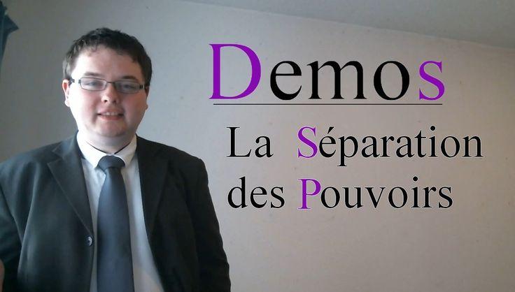 La séparation des pouvoirs - Demos 01