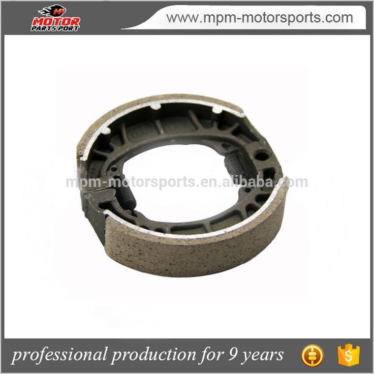 Semi metal Non asbestos , ceramic brake shoes used cg125 automobiles & motorcycles