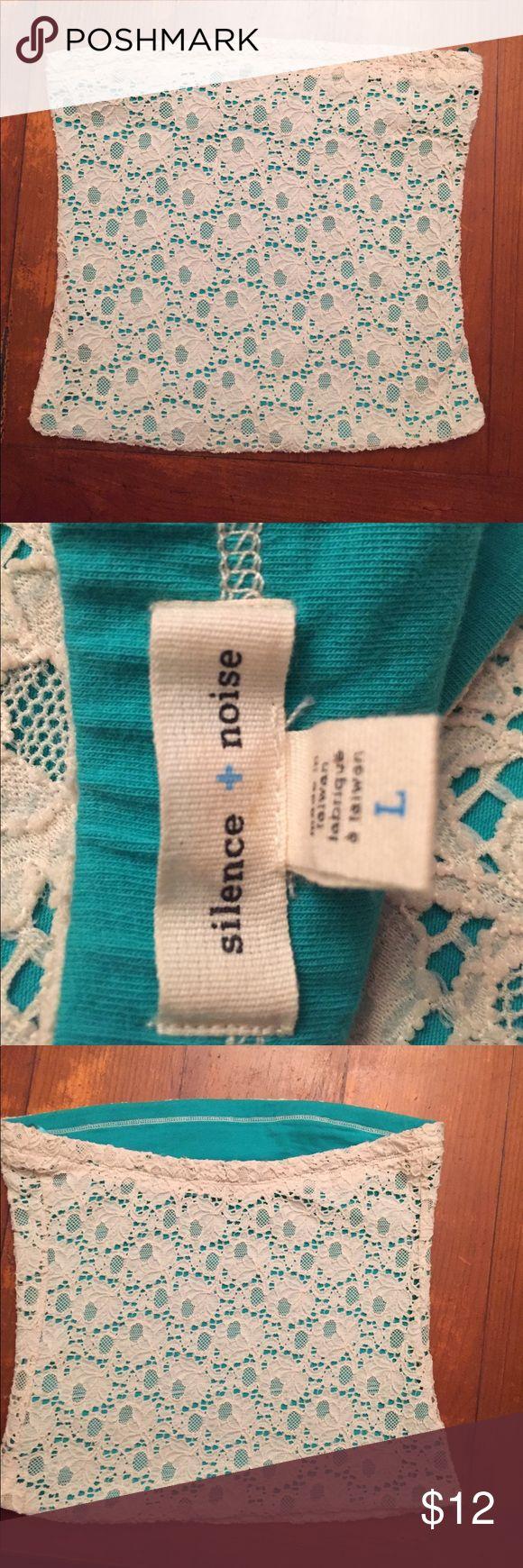 Super Cute Boho Lace Crochet Tube Top by UO Super Cute Boho Lace Crochet Tube Top by UO silence + noise Tops