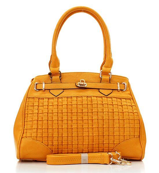 Golden Honey Misha Satchel