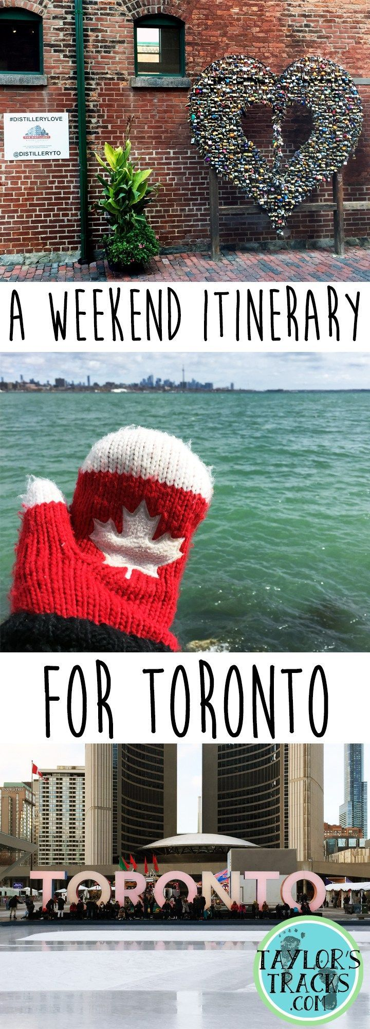 Plan your weekend trip to Toronto with this itinerary, recommended things to do and tips for the city!