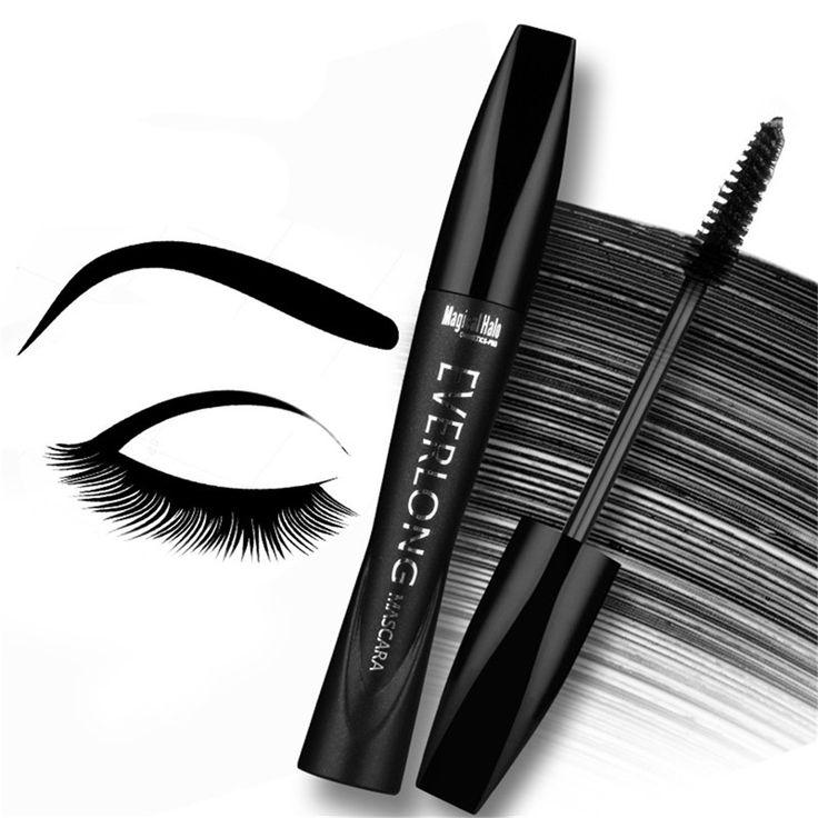 Extension Long Curling Mascara Lengthening Thick Eyelash Black Mascara Cosmetic Volume Express Waterproof Natural Eyelash Makeup