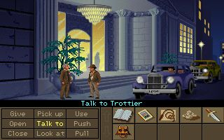 Indiana Jones and the Fate of Atlantis. A fantastic addition to the Indie cannon, capturing the franchise's characters, wit and excitement. Swab on a stick, anyone?