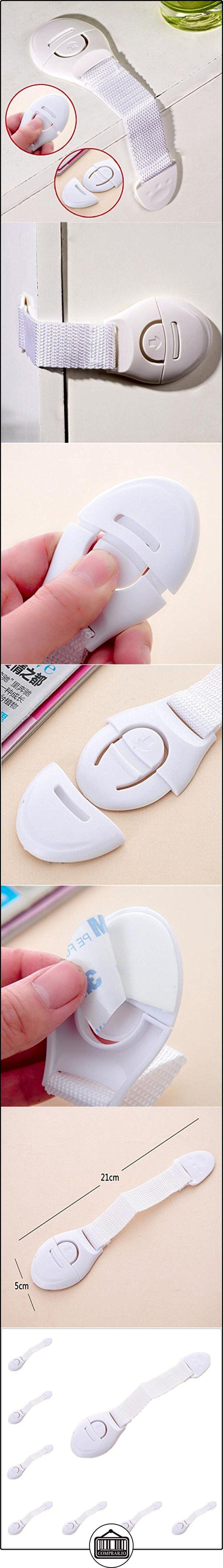 SMARTLADY Cerradura Seguridad Protector para Puerta de gabinete Frigorífico de cajones para bebé Niños( 10pcs )  ✿ Seguridad para tu bebé - (Protege a tus hijos) ✿ ▬► Ver oferta: http://comprar.io/goto/B01NCWTWSZ