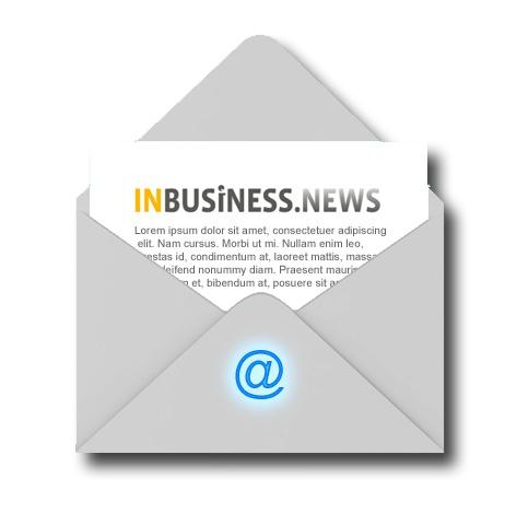 INBUSINESS.NEWS   Reed Business Media   Maken en versturen wekelijkse interne e-mail nieuwsbrief.