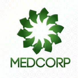 Exclusive Customizable Logo For Sale: Med Corporation | StockLogos.com