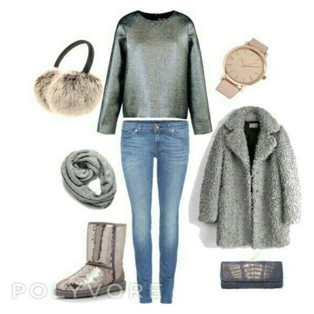 """Winter stardust"" by raffaellapapami on Polyvore"