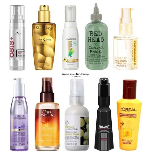 Best Hair Serum In India For Dry Frizzy Hair Affordable High End Options