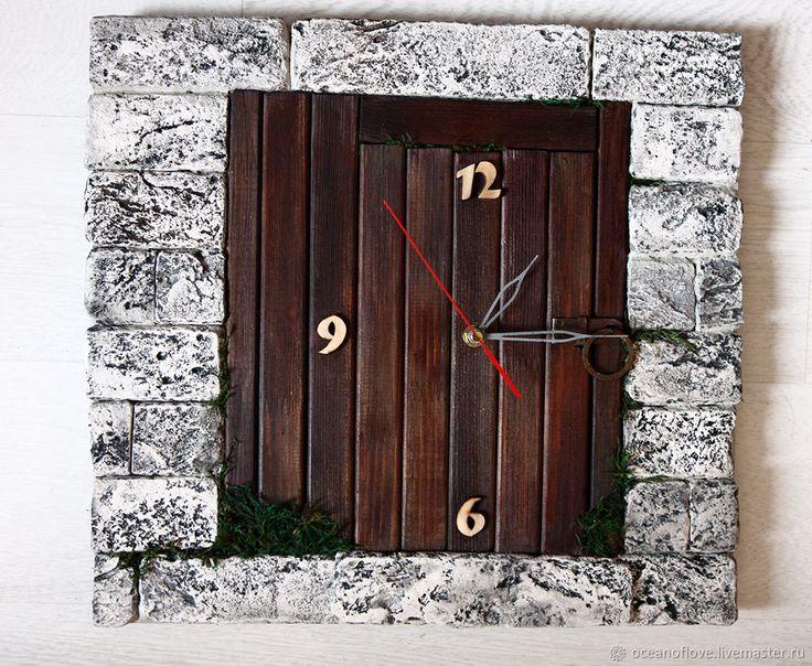 Stylized interior wall clock.It's not just the clock, but it's decor,decoration for your home! Это не только часы,но декор, украшение,акцент в вашем интерьере.