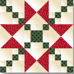 Crossing Ohio Quilt Block free pattern on McCall's Quilting at http://www.mccallsquilting.com/patterns/details.html?idx=8013
