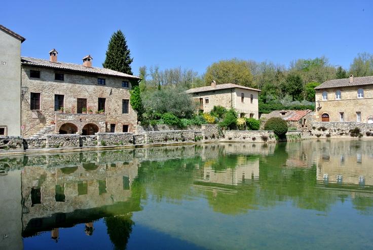 #Bagno vignoni (Foto di Barbara Palazzi)