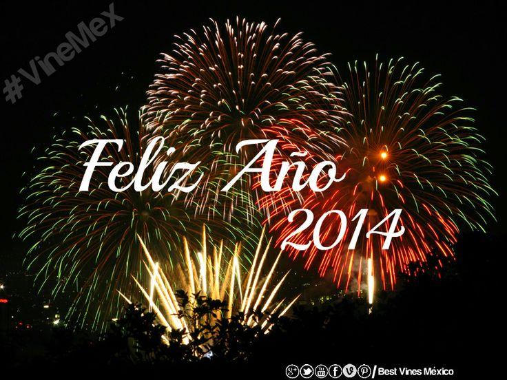 Te deseamos un #FelizAño2014 #FelizAñoNuevine!