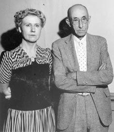 American Gothic, the models.
