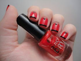 Dutchie Nails: Studded Funky French