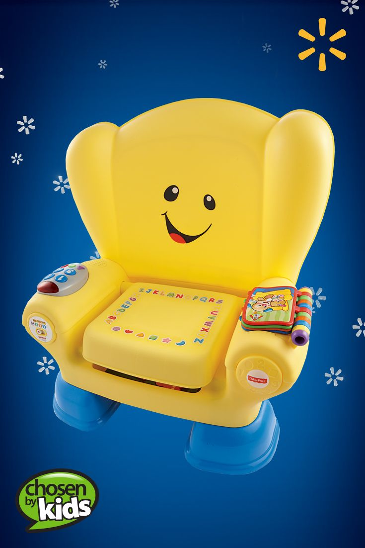 Fisherprice laugh learn smart stages chair yellow