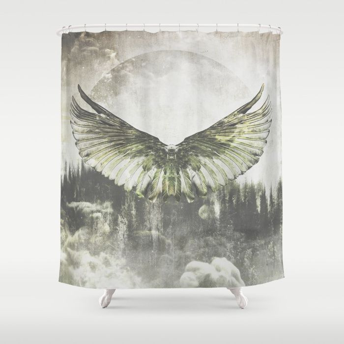 Wilderness in my heart Shower Curtain by HappyMelvin   Society6