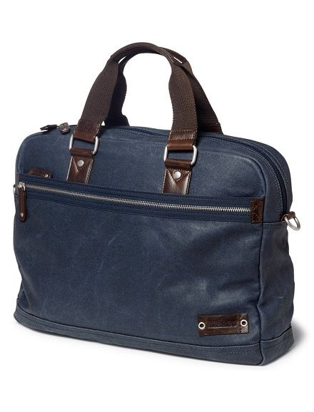Sebago Canvas Messenger Bag