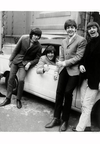 George Harrison, John Lennon, Paul McCartney, and Richard Starkey - Ringo's face is adorable!