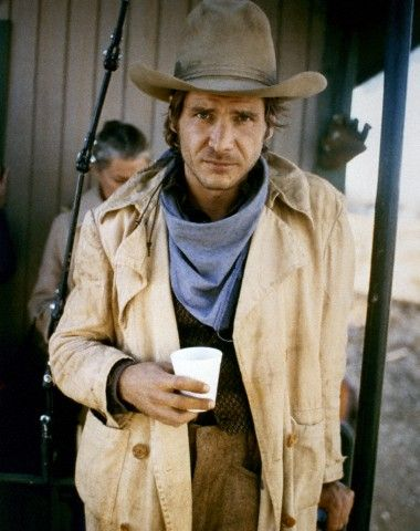 Harrison Ford on the set of The Frisco Kid (1979)