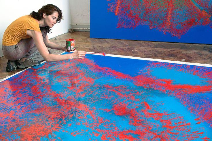 Go inside the studio of artist Juliana Do http://magazine.saatchiart.com/articles/artnews/saatchi-art-news/inside-the-studio-saatchi-art-news/juliana-do