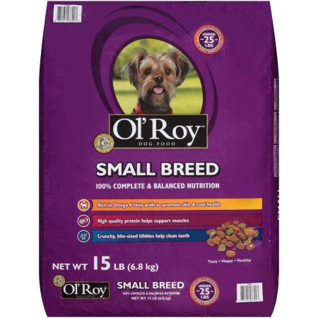 Ol' Roy Dog Food, Small Breed, 15 lbs
