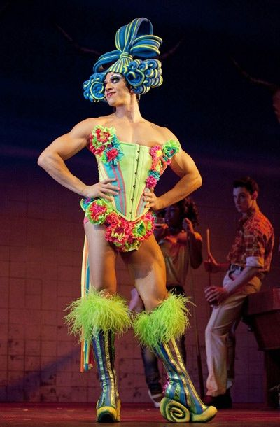 From Priscilla Queen of the Desert on Broadway! A show full of drag queens and great costumes! I would wear this in a heart beat!