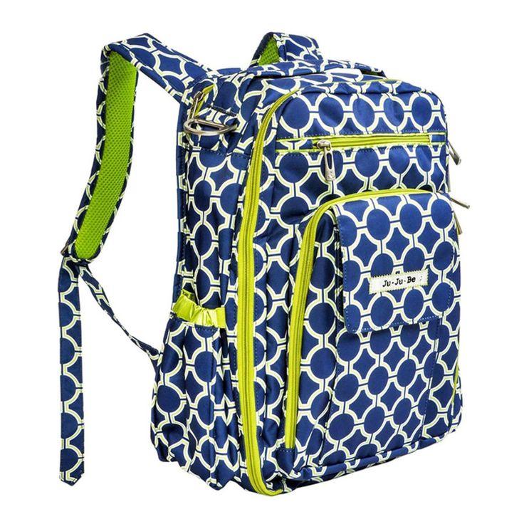 Ju Ju Be Be Right Back Backpack Diaper Bag - Royal Envy - 12BP01A REN