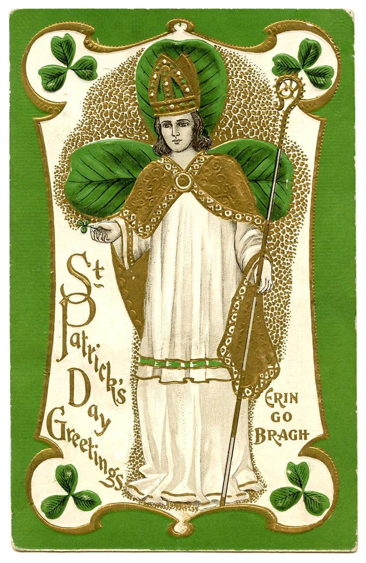 102 Best Vintage St Patricks Day Cards Images On Pinterest