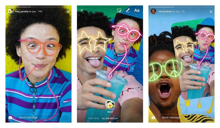 Instagram now lets you draw on friends' photos disable replays