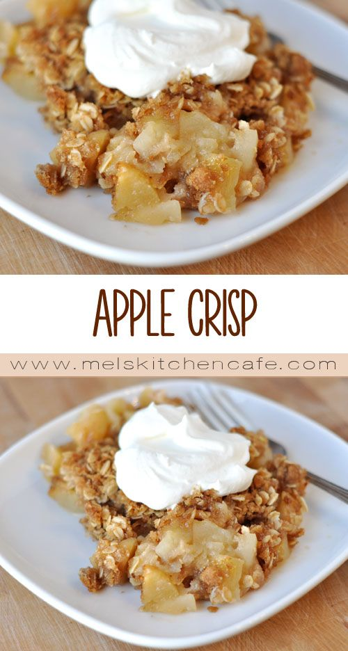 Apple crisp recipe apples and apple crisp for Easy apple dessert recipes with few ingredients