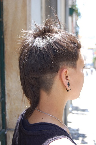 haircut with undercut asymmetric by wip-hairport, via Flickr