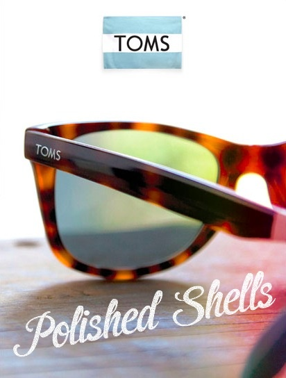 With every pair of glasses you purchase, @TOMS will help give sight to someone in need. #oneforone