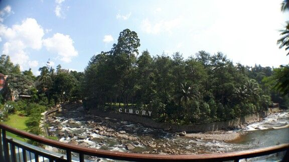 Cimory Riverside restaurant, Cisarua, Puncak, Bogor, Indonesia