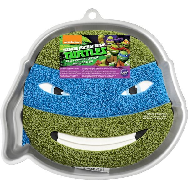 Teenage Mutant Ninja Turtles Face Cake Pan Instructions