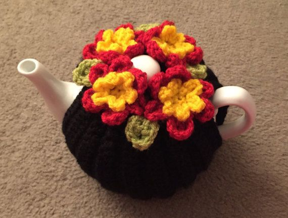 Rasta colors Tea cosy for a medium or large by SpecialHandmade444