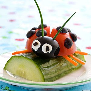 Lady Bug Snack
