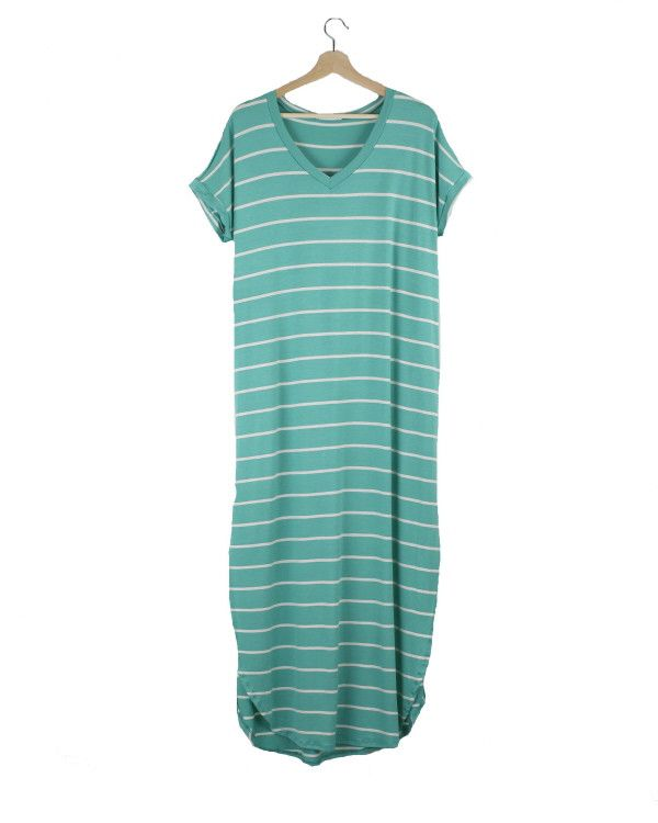 Bryce Striped Maxi Dress - Cents Of Style
