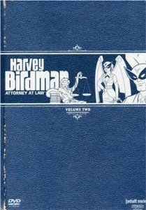 Harvey Birdman DVDs - I have Volume 1.  Need 2 and 3!   Amazon.com: Harvey Birdman, Attorney at Law, Vol. 2: Gary Cole, Thomas Allen, Stephen Colbert, John Michael Higgins, Chris Edgerly, Maurice ...