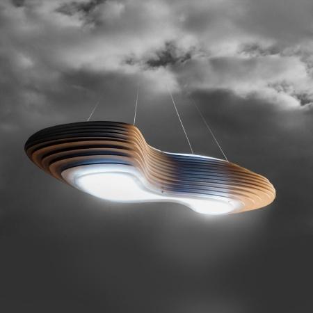 CUMULUS PULSAR LED LAMP By VALERIO AND GIULIO VINACCIA