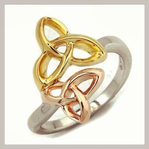 Meaning of The Trinity Knot.....The trinity knot is the simplest of Celtic Knots representing a triune God. The Celts believed that the trin...