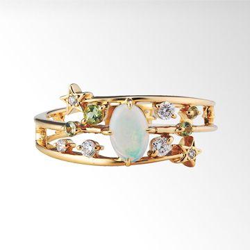 STAR FALL RING|star jewelry, ¥126,000