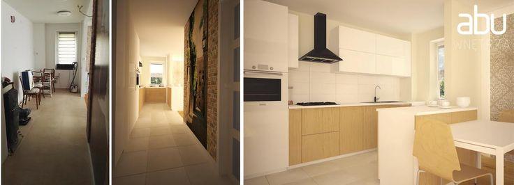 it is - it will be - kitchen & entrance hall II Miedzynarodowa, Warsaw