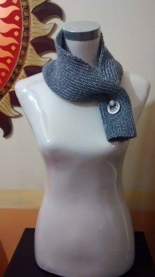 scaldacollo in lama,maglia,knitting