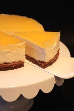 Krämig Apelsin Cheesecake | Bakverk och Fikastunder