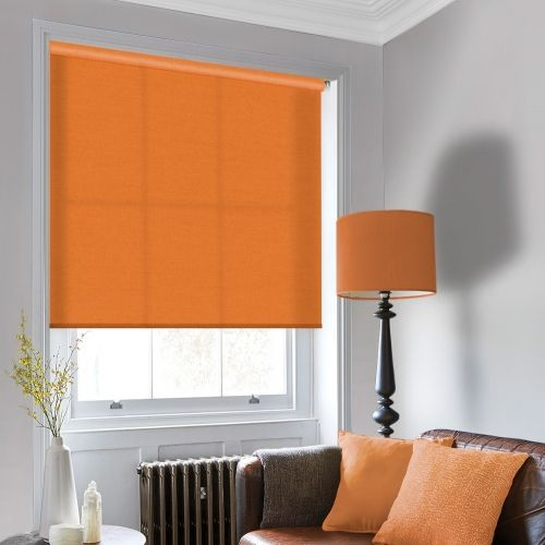Sale Tango Orange Roller Blind