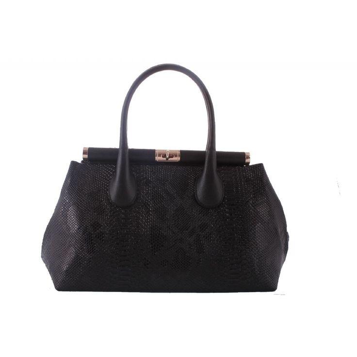 Sunni Deri El Çantası | LC 614  Çanta Piton Siyah | 12005000614050130003 | çanta, bayan çanta, deri çanta,  çanta aksesuar, ucuz çanta |