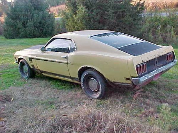 1969 Ford Mustang Boss 302 Barn Find Just Begging To Have The Wind Blowing Over Her Again