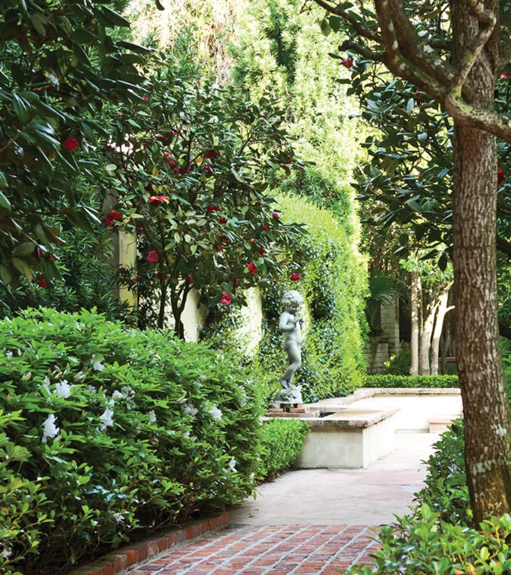 exquisite home and garden showplace. The Secret Gardens tour of New Orleans offers a peek at some the city s  hidden 66 best images on Pinterest Victoria magazine Backyard