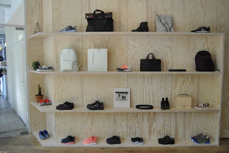 Interior minimalist decor of  #fashion concept store - The Broken Arm   #paris  #luxury  #wall