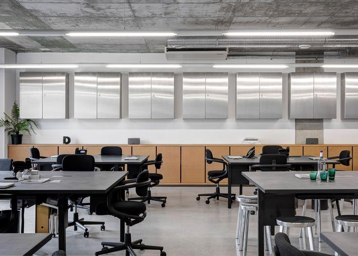 Pernilla ohrstedt designs collaborative office for dezeen for Office design dezeen